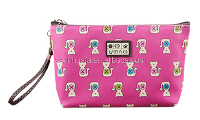 Made In China Wholesale Hot Selling High Quality PU Cosmetic Bag