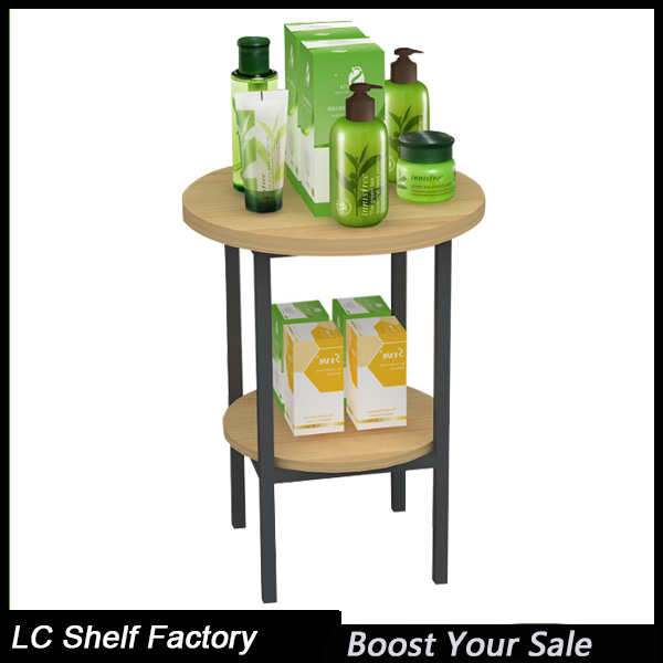 beauty shop fashionable display stands for cosmetics makeup skin care lotion