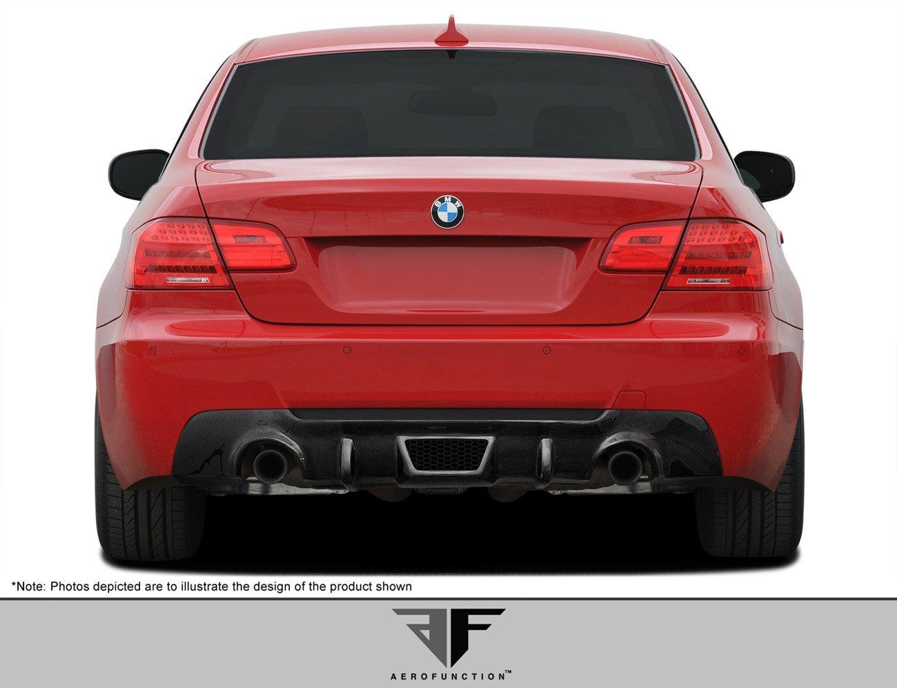 2007-2013 BMW 3 Series M-Tech E92 E93 2DR AF-3 Rear Diffuser ( CFP ) - 1 Piece