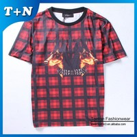 high quality 100% POLYESTER men/women printed sublimation t shirt