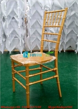 Banquet gold bamboo chiavari wedding chair