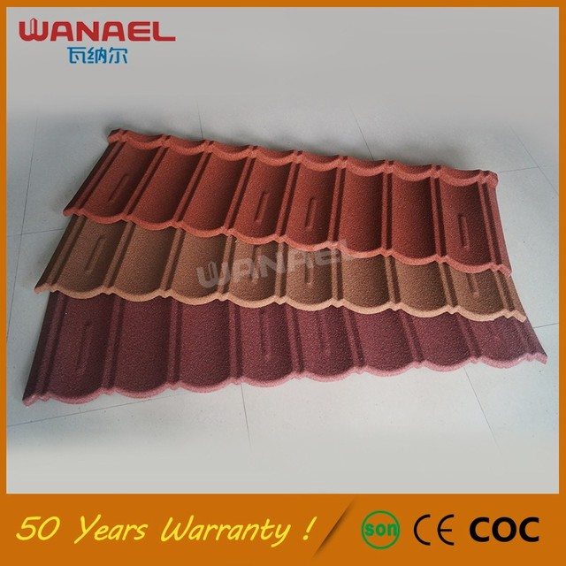 Roof Tile Metal Stone Coated,Shingles Zinc Roofing Monier French Synthetic  Spanish Steel Stone Coated