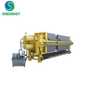 automatic slurry chamber filter press , dewatering filter