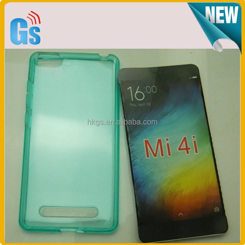 Clear Transparent Jelly Soft Tpu Mobile Phone Case For Xiaomi Mi ...
