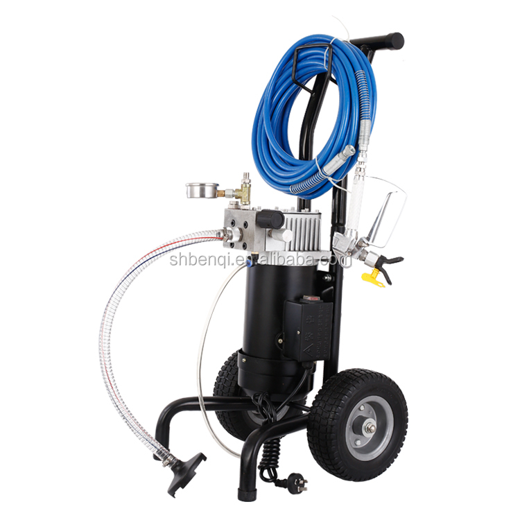 Airless paint spray gun coating machine air assisted for Air or airless paint sprayer
