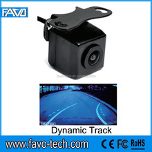 Car Reversing Dynamic Track Camera With Moving Guide Line