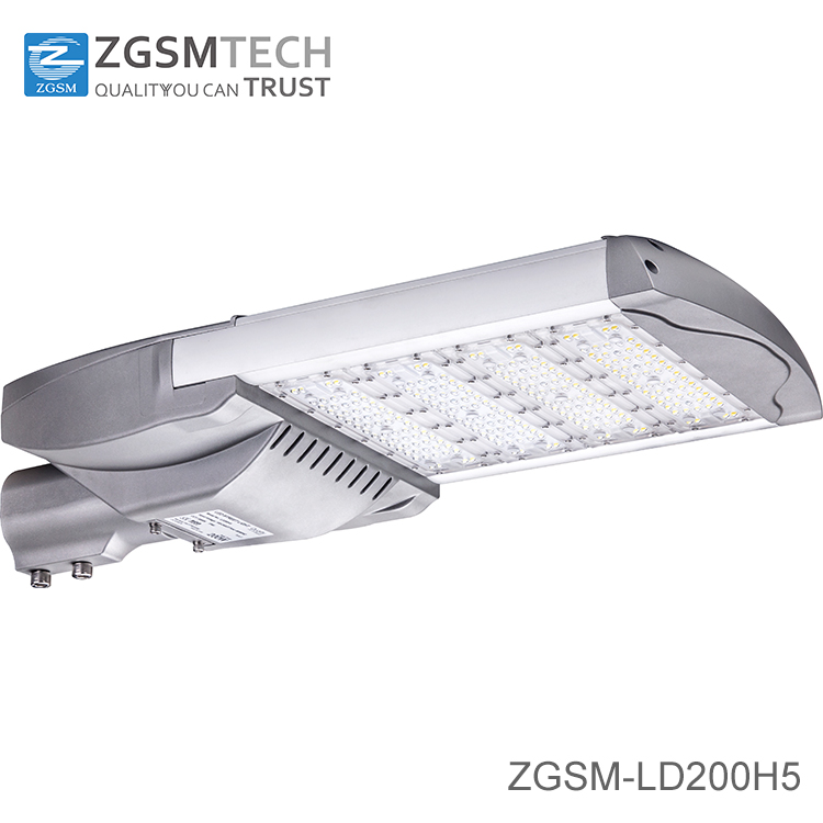 Super bright 2016 new 200 watt led street light with LUMILEDS 3030 LED