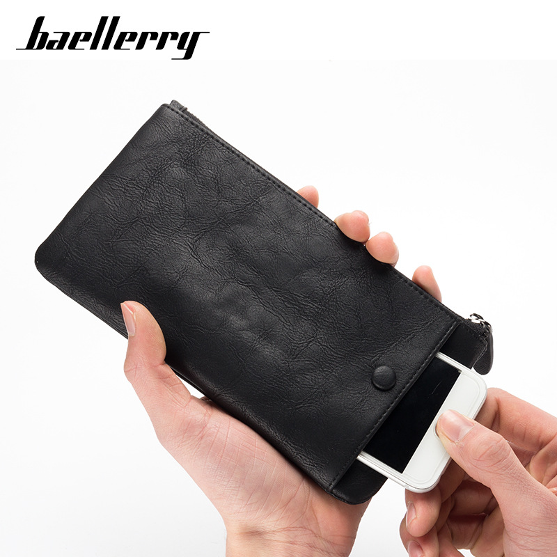 2018 new arrival fashion phone case card holder soft pu leather baellerry wallet