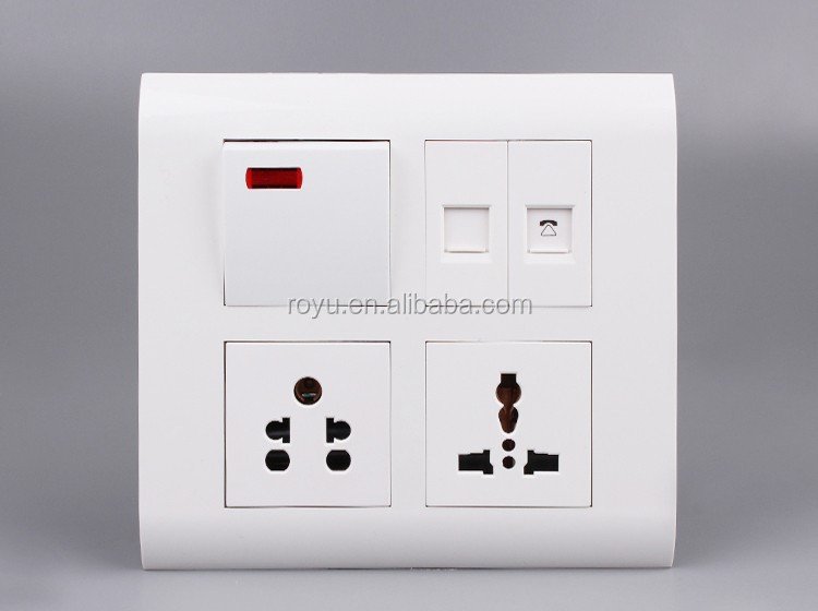 3-gang Socket Outlet With High Quality,Electrical Plugs Wall ...