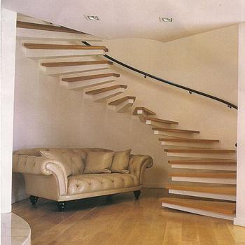 Innen Gerade Treppe Mit Verbundglas Gelander Glas Treppen Buy