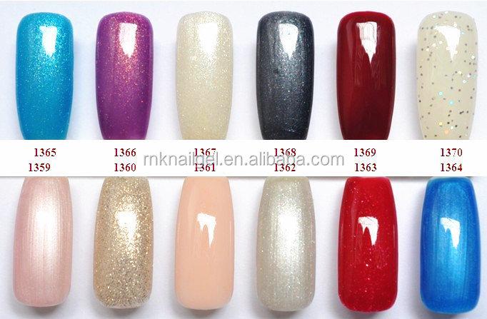 Healthy Soak-off Nail Gel Uv Led Nail Polish Color Chart
