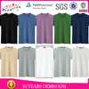 Hot fashion men's blank cheap 100% cotton plain t-shirts