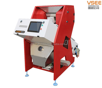 China produce ce certificate mini type seeds processing ccd sensor Color Sorter machine