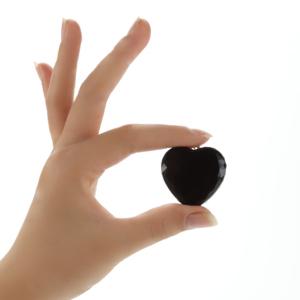 The Smallest Mini Long Distance Heart shape Hidden Spy Voice Recorder keychain
