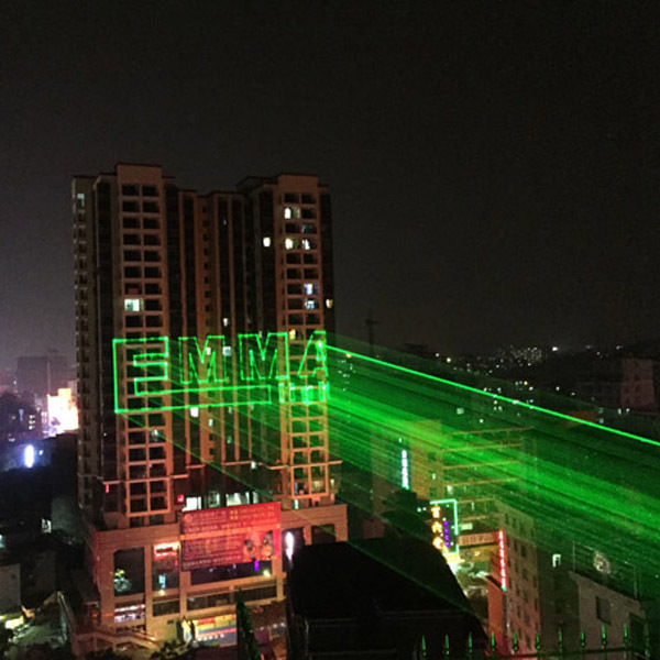 Green Christmas Lights Projector Outdoor Christmas