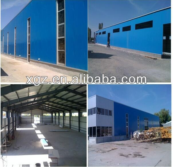 Low cost steel fabrication workshop layout