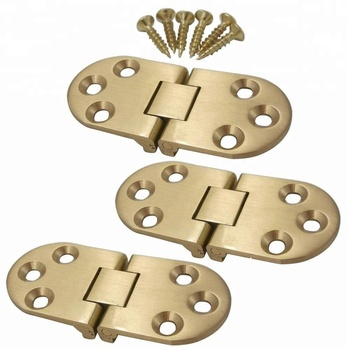 Furniture hardware mini concealed brass hinge for jewelry box
