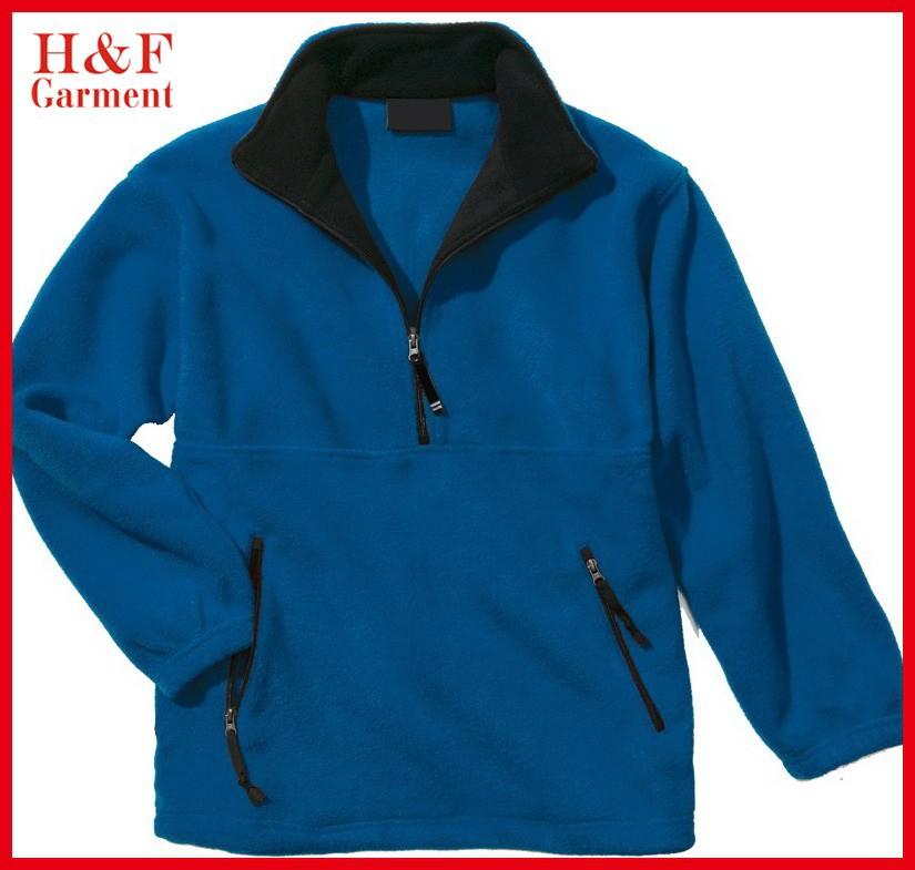 Men's Cheap Fleece Jackets Half Zip Fleece Pullover In Various ...