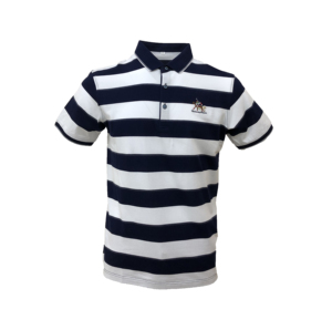 Mingmen in STOCK classic brand striped custom men polo business shirts