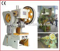 J23 Series Travel Adjustable Power Press,30 Ton eyelet punching machine,Economical Open-type fixed table press machine
