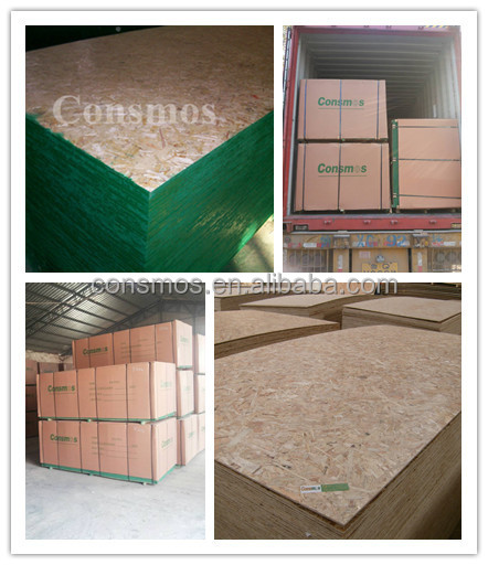 Consmos furniture grade OSB /melamine faced OSB