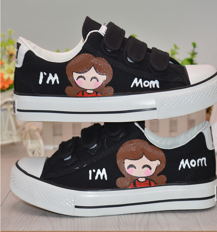 2016 wholesale china flat shoe latest faddish family unisex canvas shoes customized cheap women shoes