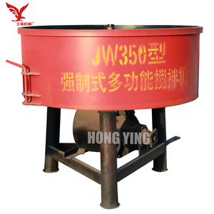 JW350 Construction industry machinery mobile electric concrete mixer cement