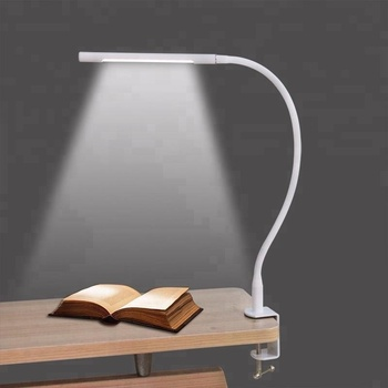 High Quality Black White Case Bedside Lamp Clamp