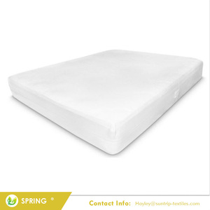 Custom size 100% urine proof waterproof mattress protector cover for baby