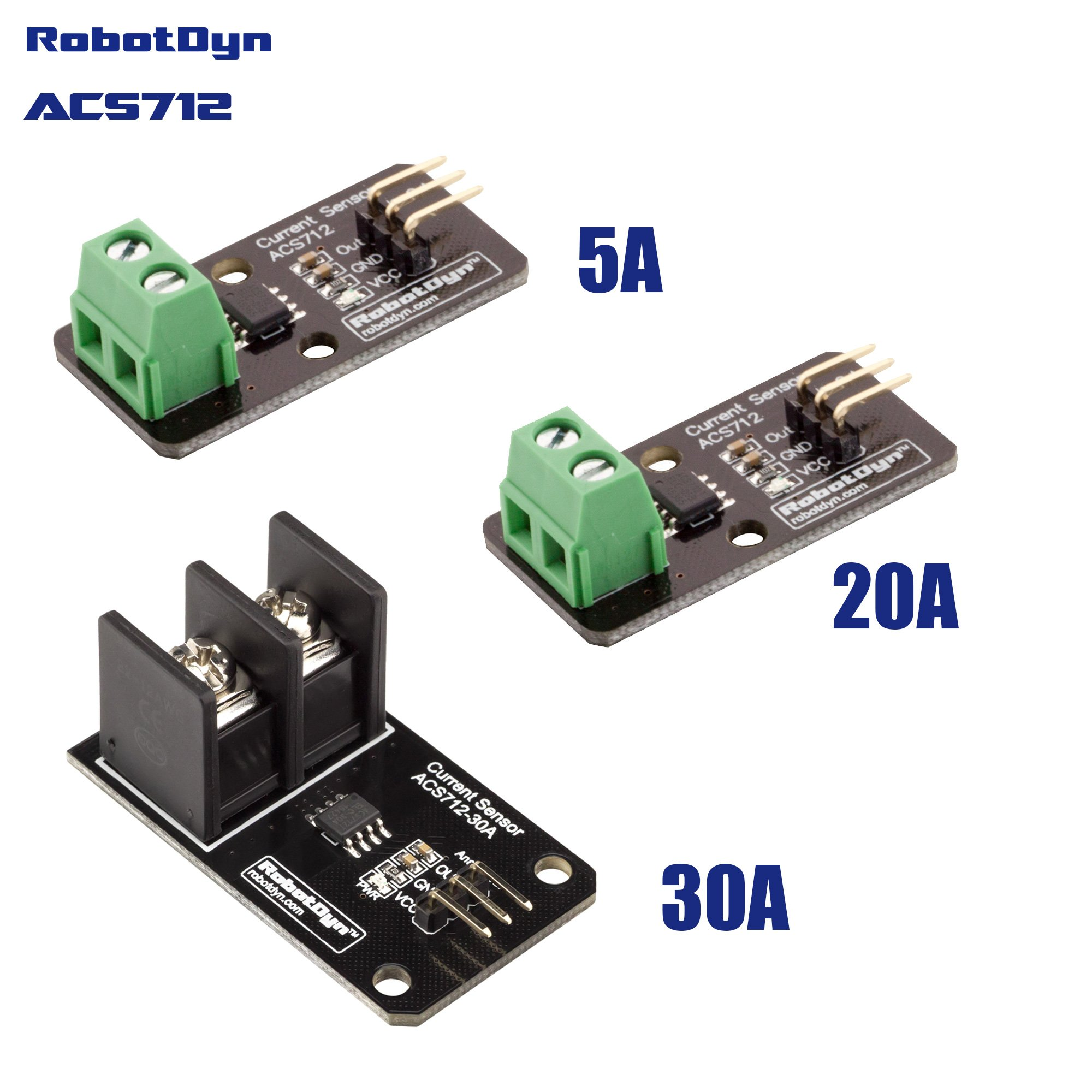 Cheap 30a Range Current Sensor Find Deals Circuit Diagram On Eddy Get Quotations Robotdyn Ac Dc Acs712