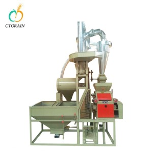 Small fufu making machine/maize flour milling machine for sale