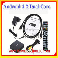 Android TV Box with lan port apply to CRT TV and LED&LCD TV