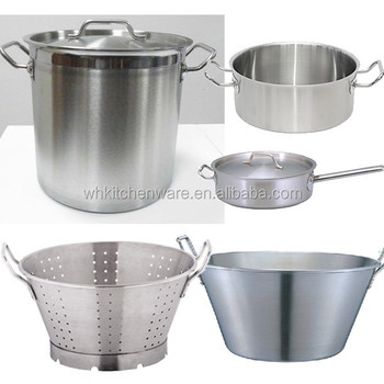 Commercial Hotel & Restaurant Cookware Sets /Stainless Stockpot