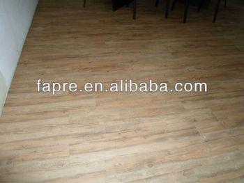 Finto legno pavimenti in vinile in vinile per pavimento esterno