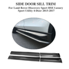 Carbon Fiber Car Side Door Sill Trim for Land Rove r Discovery Sport HSE Luxury Sport Utility 4-Door 15-17