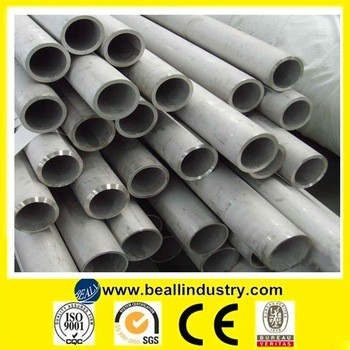Heat resistant Lisco Aisi cold roll 304 stainless steel pipe