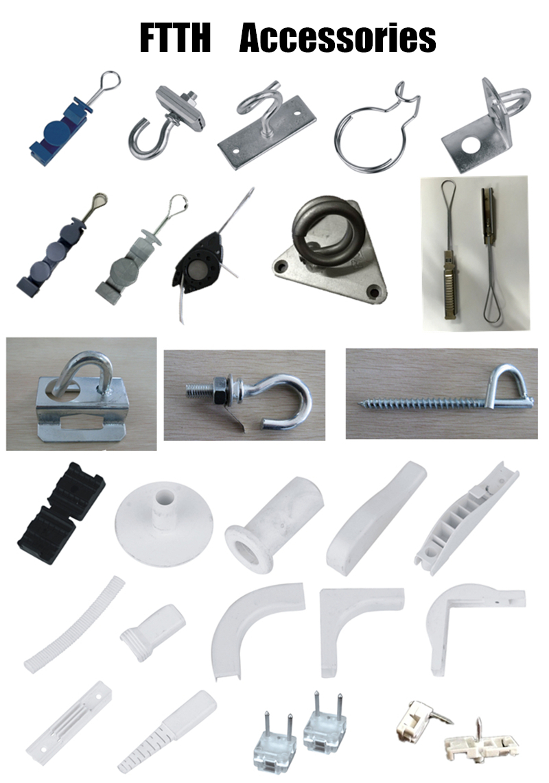 Fiber Optic Accessories Hanging Hardware Cable Fitting For