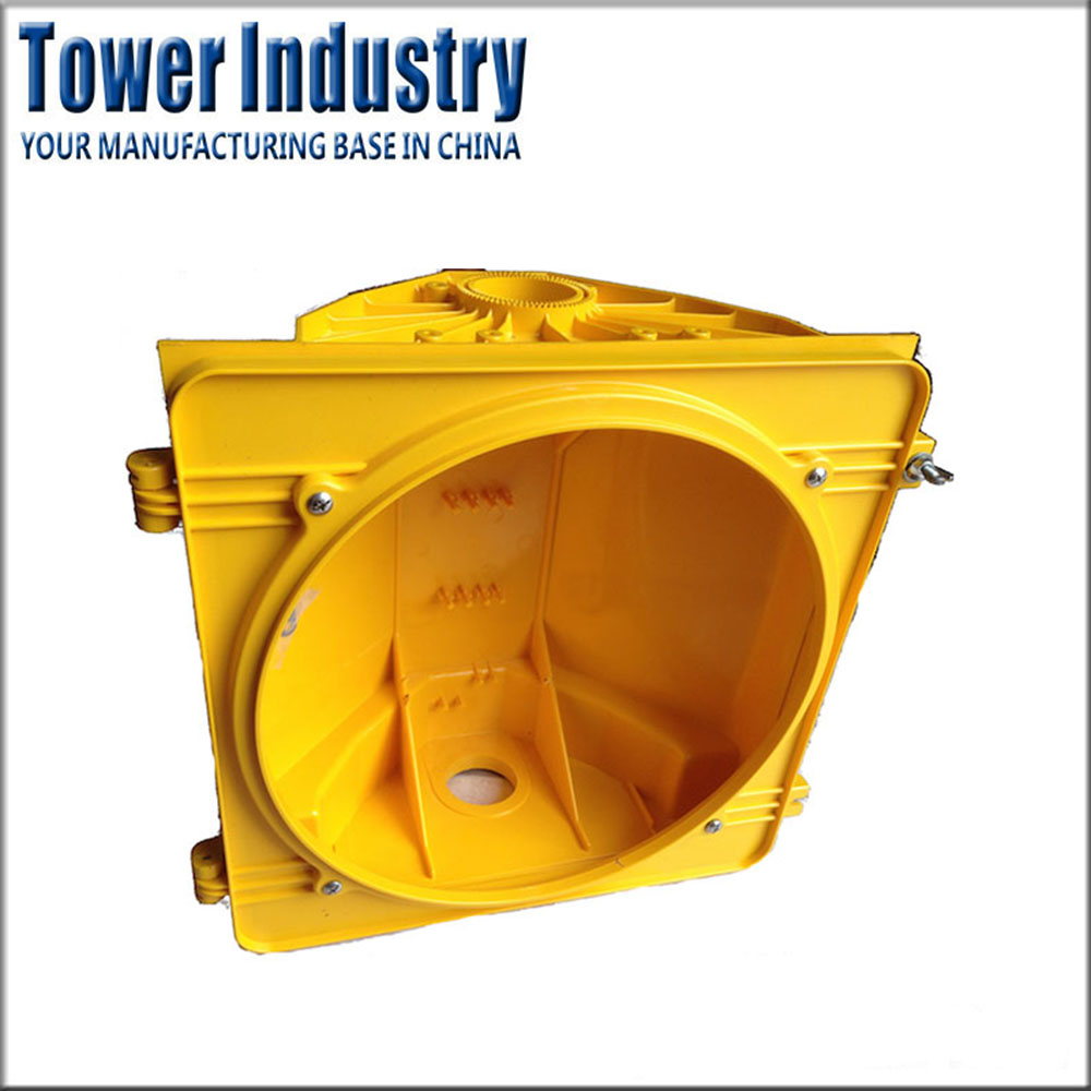 OEM Aluminum Die Casting Parts Traffic Light Housing