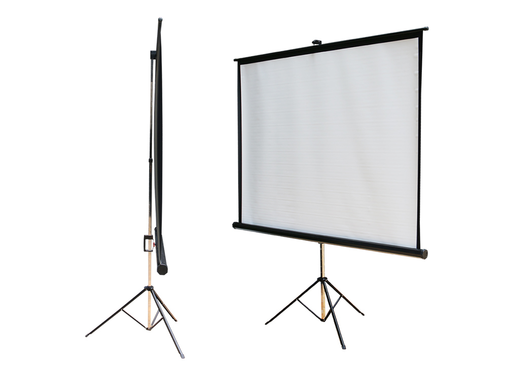 Video Projector White Screen With Tripod For  Meeting,Party,Games,Movies,Home - Buy Projector Screen With Tripod,Home  Made Projector Screens,Projector