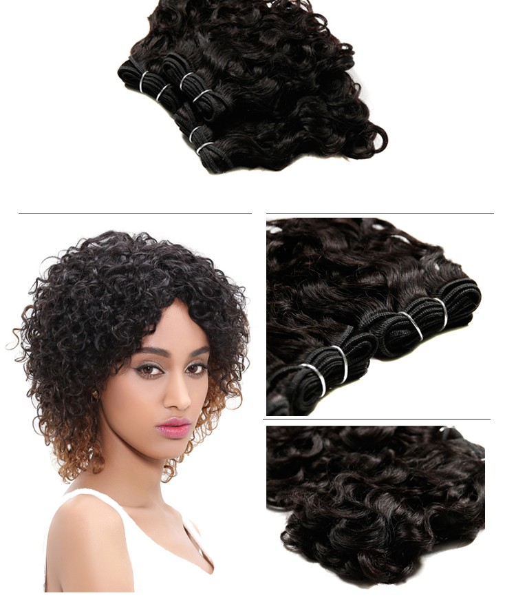 Sleek All In One Hair Weave Wholesale 100 Human Hair Indian Afro