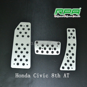 Aluminum Accelerator Pedal Car Brake Fit For Honda Civic 8th At