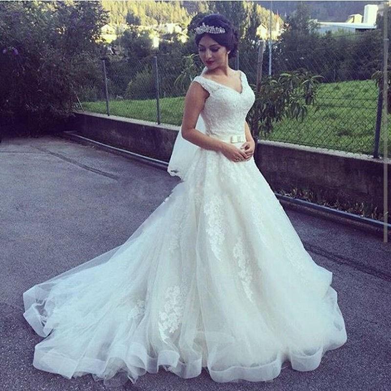 Venta al por mayor venta vestido novia boda-Compre online los ...