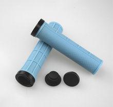 Велосипедные ручки с одним замком (TRP rubber + AL Ring)(Китай)