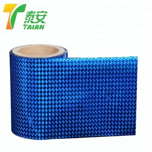 Safety OPP metalized holographic roll film for paper lamination usage
