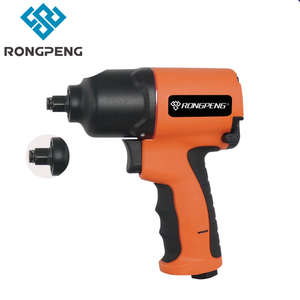 RP7424 RONGPENG 3/8-Inch Composite Air Impact Wrench With Twin Hammer Mechanism