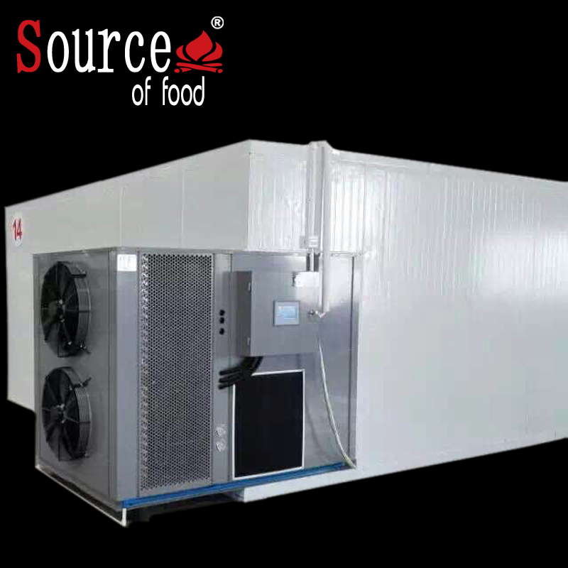 Heat pump energy saving noodle and hay drying machine