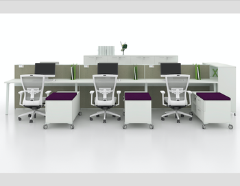 Wiring System Customized Person Open Office Furniture Modular - Modular conference table system