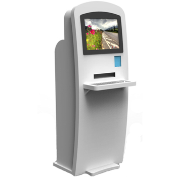 LCD supermarket smart self-service pos kiosk payment terminal hotel check in touch kiosk