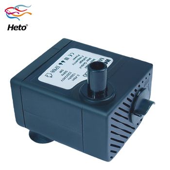 Aquarium small  water pump,UL,CE,2 W, 50/60Hz;,Max Flow :120L per hour, Max head 0.42m