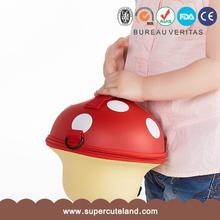 Lovely design Wholesale price EVA mushroom 3d printed handbags For child